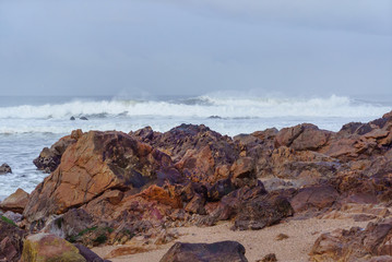 beach of the Atlantic ocean