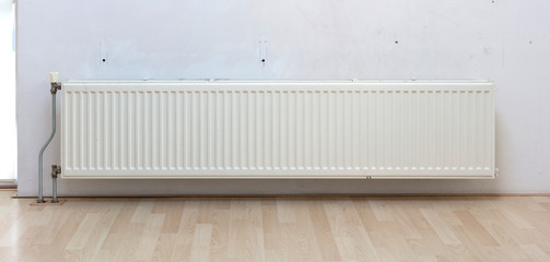Heating radiator in a dutch home