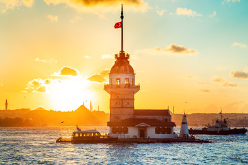 Maiden's tower - Istanbul, Turkey