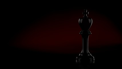 Chess Pawn King Dark Light
