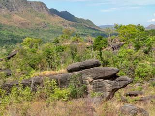 landscape at Chapada dos Veadeiros in Brazil