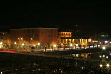 Sarnico in the night