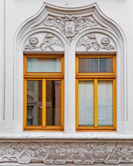 art nouveau house windows, Germany
