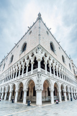 Fototapete - Historical architecture - Doge's Palace in Venice, Italy