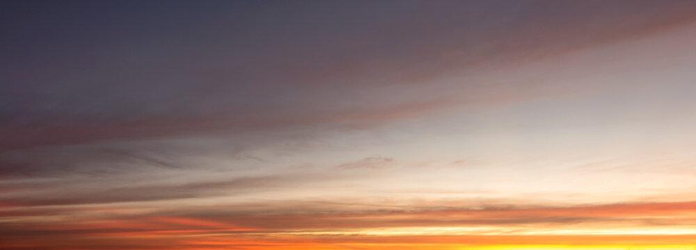 buatiful Sky Sunset or sunrise background