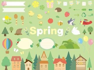 春の素材集4