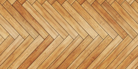 Seamless wood parquet texture horizontal herringbone light brown