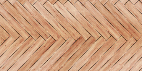 Seamless wood parquet texture horizontal herringbone light