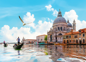 Printed kitchen splashbacks Gondolas Gand Canal in Venice