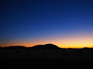 sunset namib desert