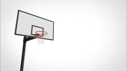 バスケットボール ゴール ひだり