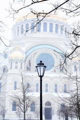 Naval Cathedral In Kronstadt