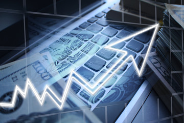 Online Trading High Quality Stock Photo