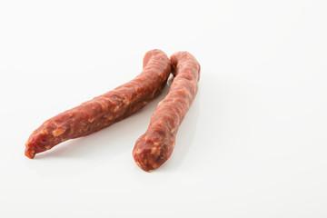Südtiroler Hirschbeißer aus Schweine- und Hirschfleisch, luftgetrocknet