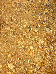 stone crumb as a background, rocky soil