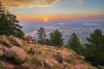 Boulder Colorado Sunrise