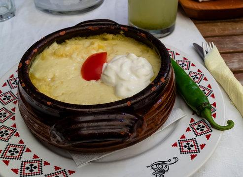 Mamaliga, A Romanian Traditional Dish