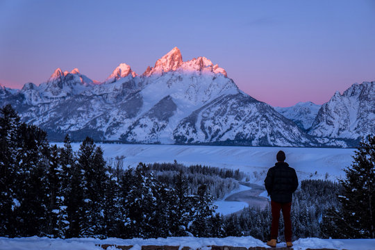 Watching the Alpenglow