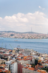 View over the city of Istanbul