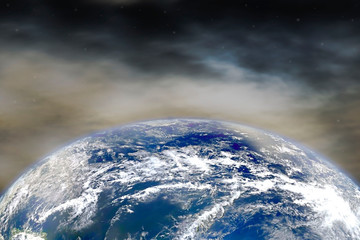 Planet Earth. Elements of this image furnished by NASA