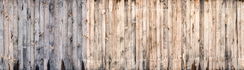 Brown wood colored plank wall texture background