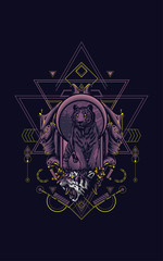 Tiger sacred geometry