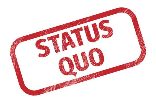 Status quo on ripped paper - Status Quo