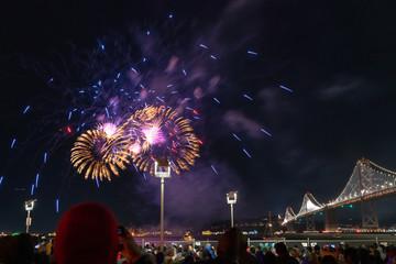 Fireworks in San Francsisco