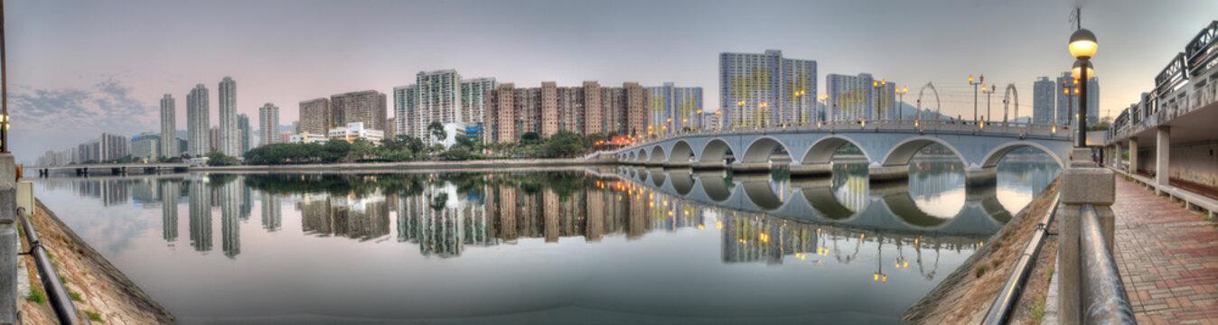 Shatin City Reflection, HK