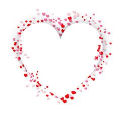 Heart shape glitter background for valentine's day, mother's day, and wedding day - Valentine Heart - Valentine Background