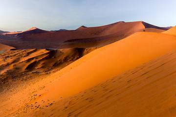 Photo sur Plexiglas Orange eclat Namib