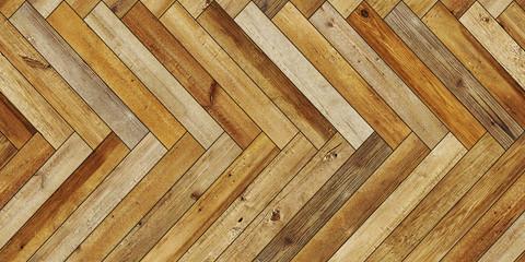 Seamless wood parquet texture horizontal herringbone dark brown