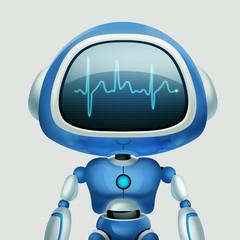 AI Robot. Chat Robot. Talking Robot. Portrait Artwork. Concept Art. Realistic Illustration. Video Game Digital CG Artwork. Character Design.