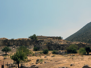 Europe, Greece, Mycenae, the ruins of one of the oldest  settlements in Europe. He's over 3,000 years old.