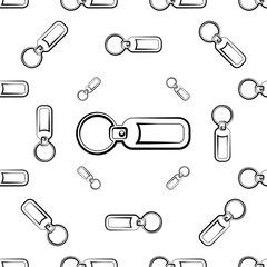 Key Chain Seamless Pattern, Key Ring