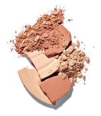 make up color powder beauty