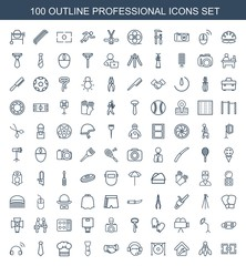 100 professional icons