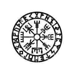 Vegvisir Viking Compass Rune