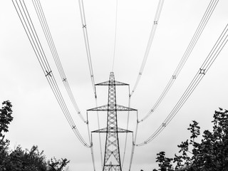 Electricity Pylon, Bolney, Mid Sussex, UK