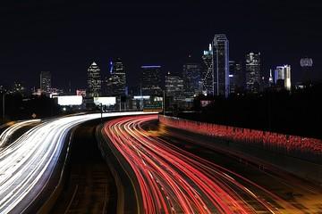 Aluminium Prints Texas Life in the Fast Lane