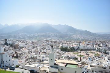 Beautiful views of Tetouan, Morocco