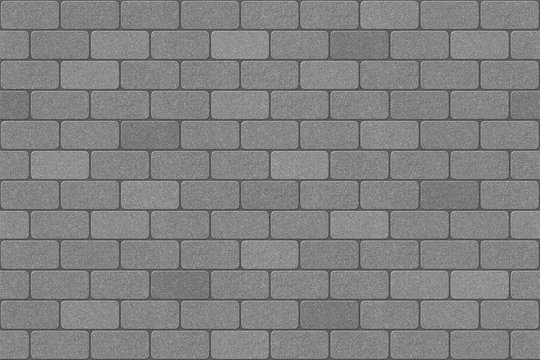 Brick pattern running bond paving texture.