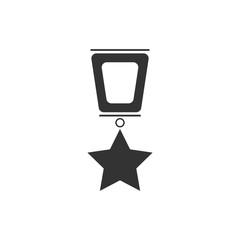 Award icon flat