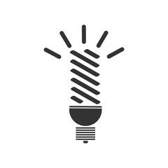 Bulb icon flat