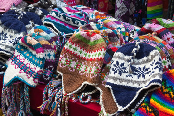 Nepalese knitted hats