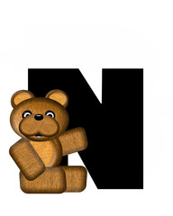 Alphabet Teddy N