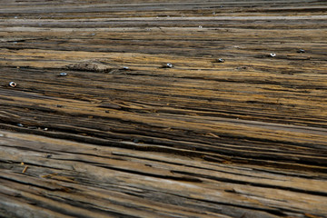 Wooden brown wall, background, texture, old wood