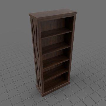 Western bookshelf