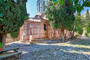 The monastery of Nea Moni in Chios, Greece