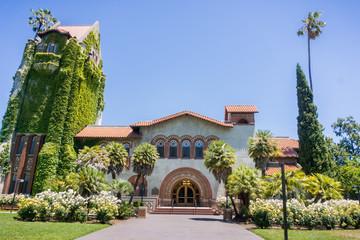 Old building at the San Jose State University; San Jose, California